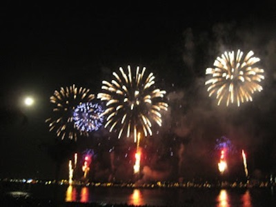 fireworks cannes croisette