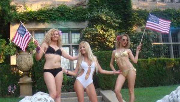 Independence Day at the Playboy Mansion
