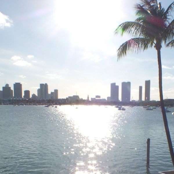 Just arrived in Miami