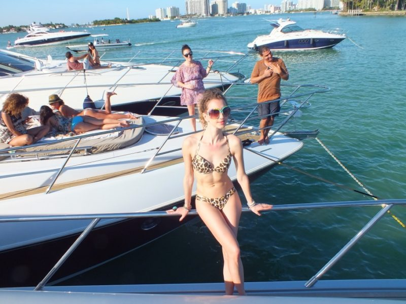 Boat Party in Miami Beach