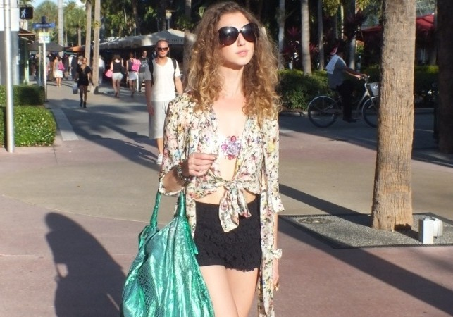 Shopping on Lincoln Road Miami Beach