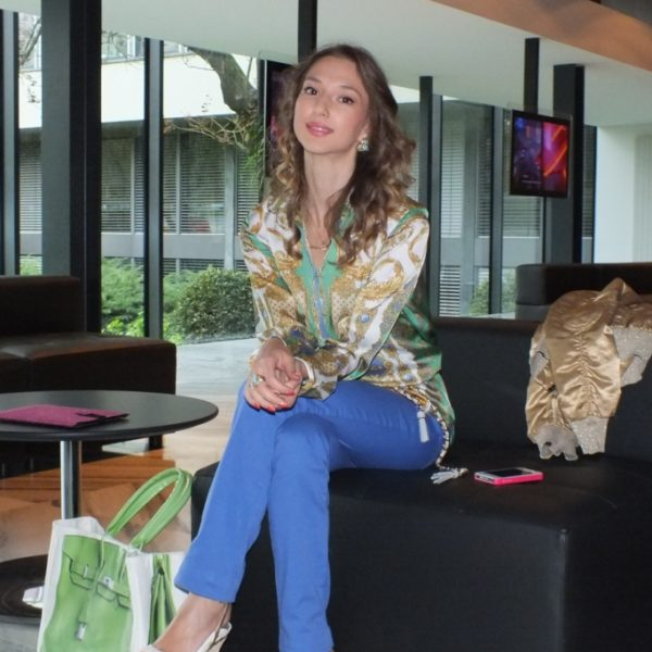 My Outfit & Interview for Linea Rossa – RSI