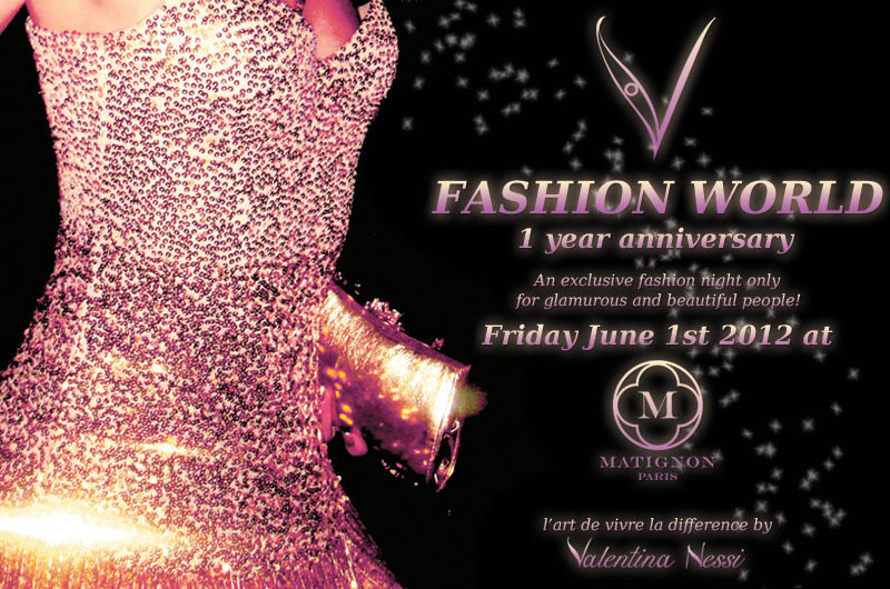 V Fashion World 1 Year Anniversary