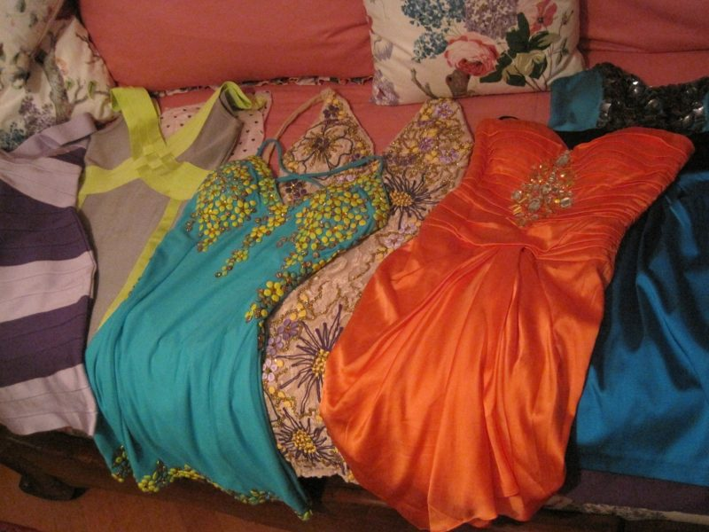 Packing all my dresses for Cannes Film Festival