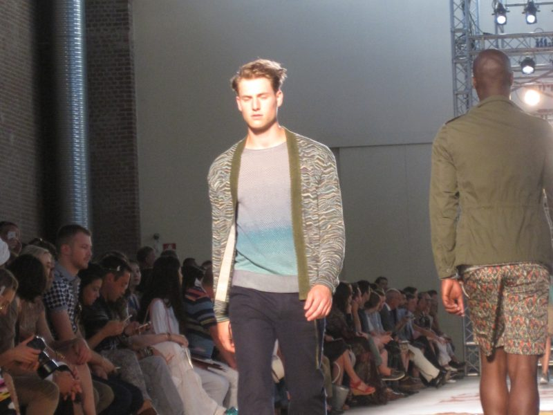 VIDEO of MISSONI Fashion Show