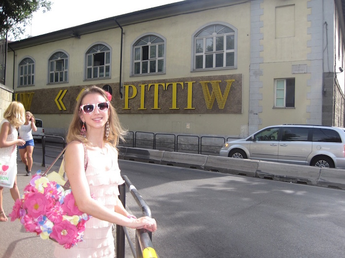PITTI WOMAN E EVENTO FENDI
