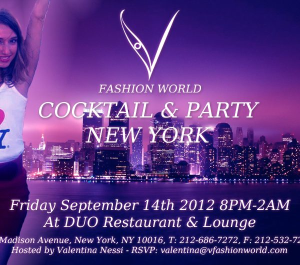 FASHION NIGHT OUT IN NYC