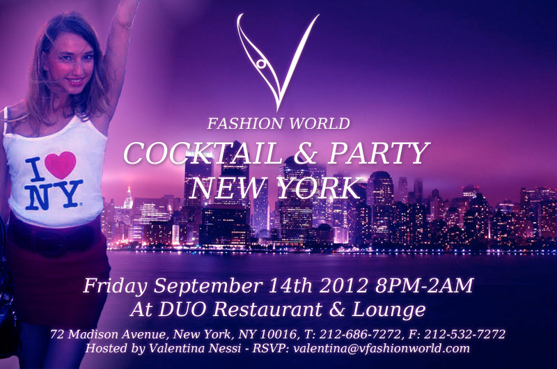 V FASHION WORLD PARTY IN NEW YORK
