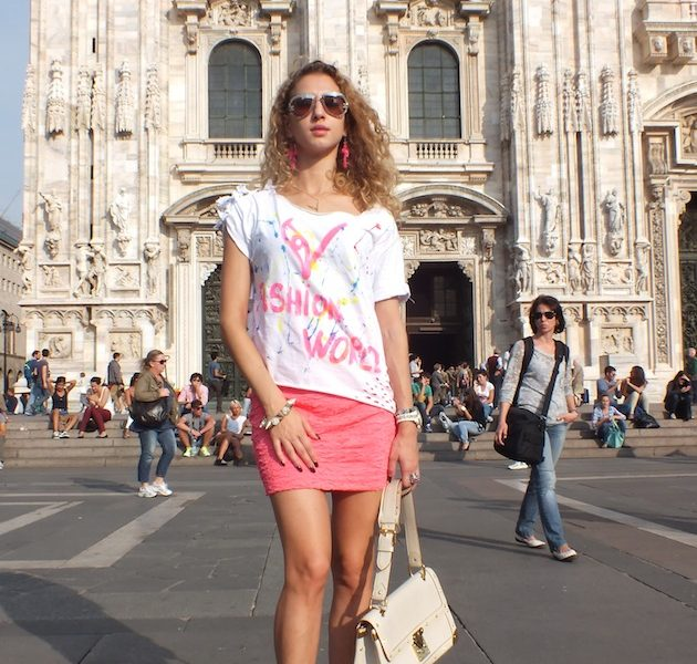 1 Day & Outfits of Milano Fashion Week