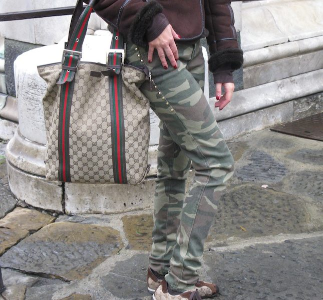 Camouflage Jeans