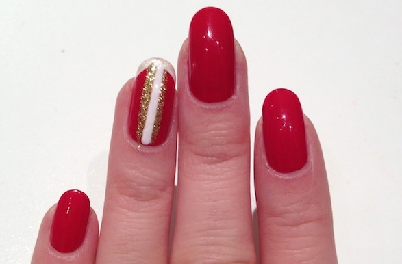 Christmas nails style