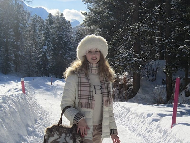 BURBERRY LOOK IN THE SNOW