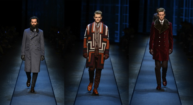 CANALI Menswear Fall/Winter Look