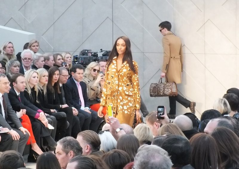 Burberry Fashion Show in London