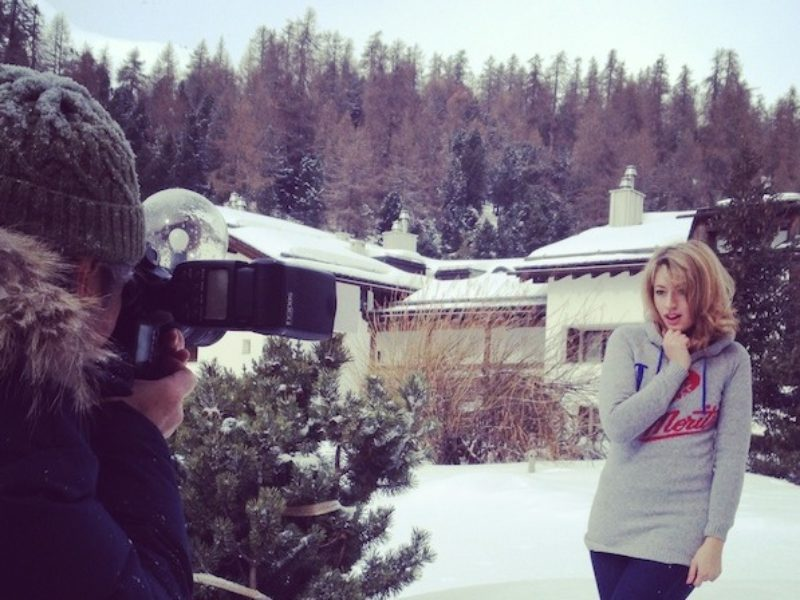 In St.Moritz with S.Moritz Fashion Team