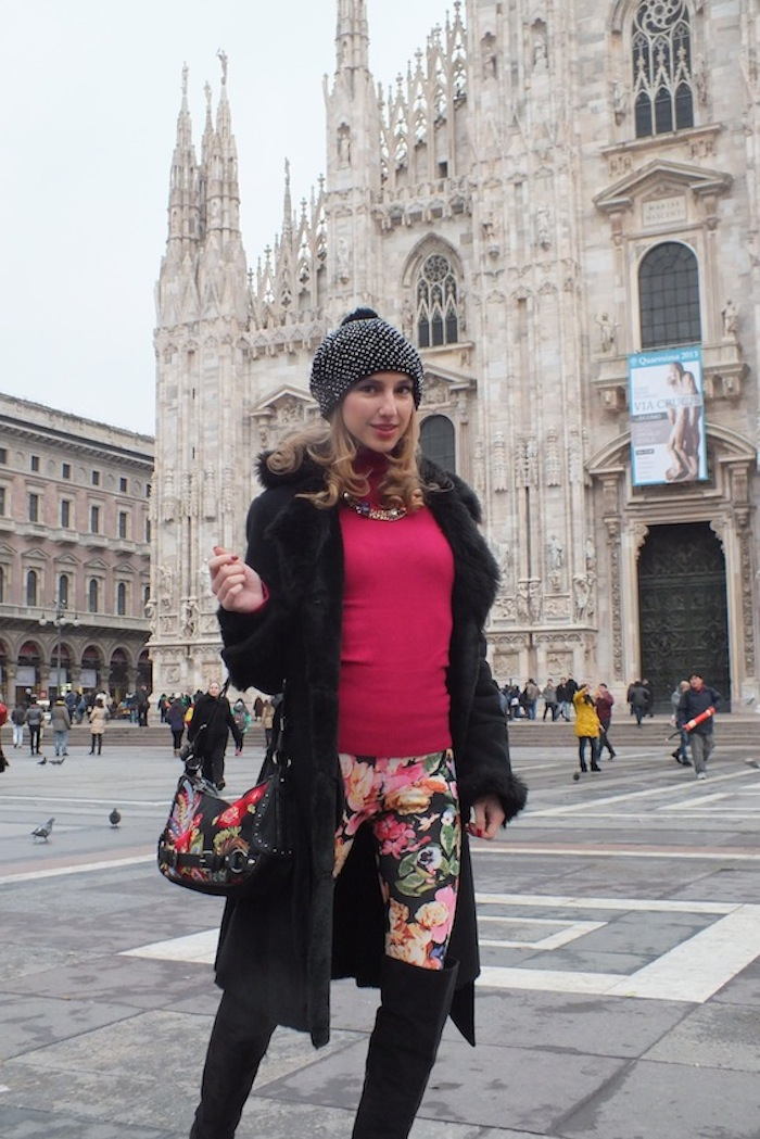 best fashion blogger at milano fashion week