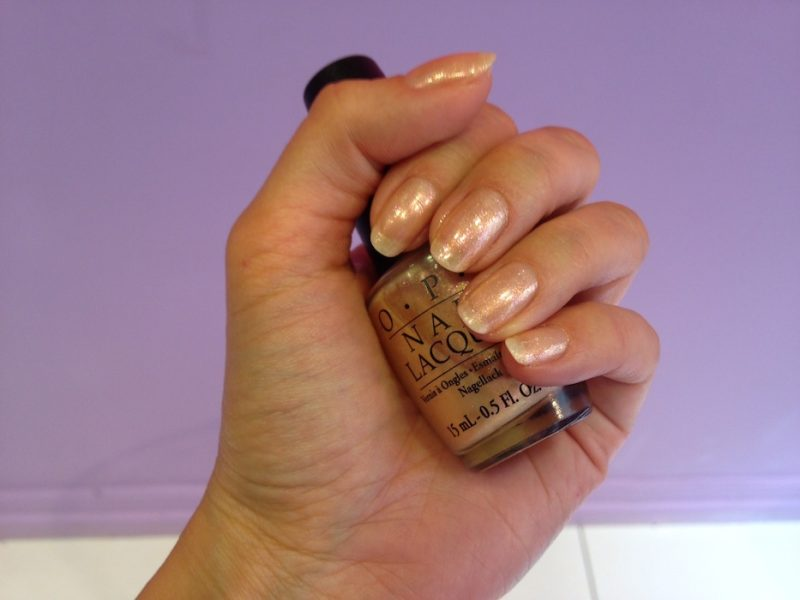 Gold Peach Nail & Hand Care