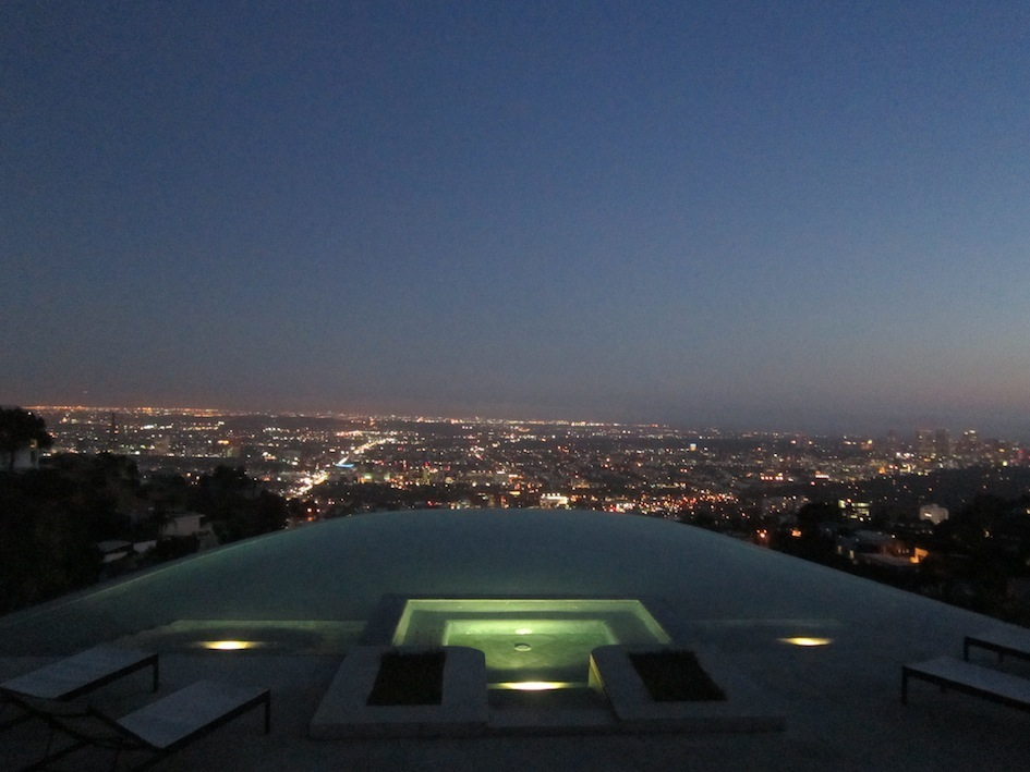 hollywood_hills_pool_by_night