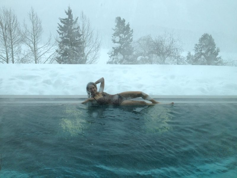 Winter Luxury SPA in St.Moritz
