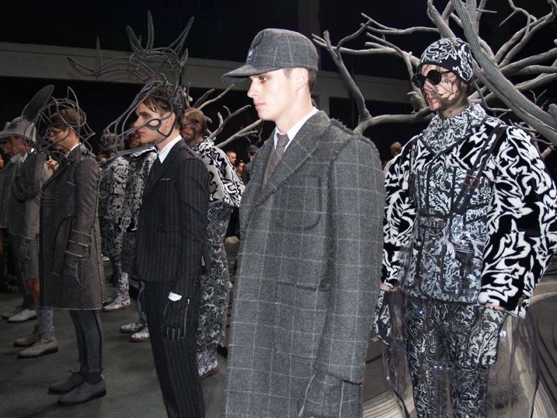 Thom Browne Fall winter 2014-2015 Menswear Fashion Show