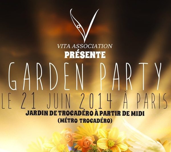 Garden Party Charity Event Promotion Day