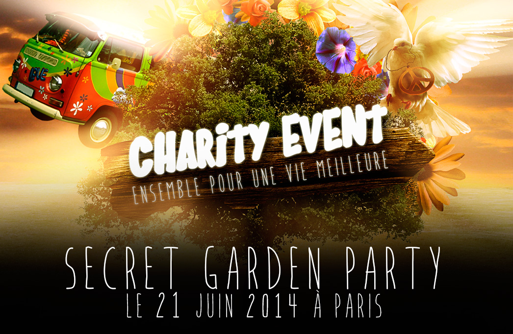 Secret Garden Party Paris - Charity Event