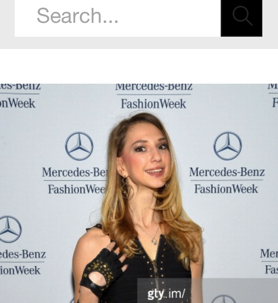 Gettyimages – Valentina Nessi attends the Mercedes-Benz Star Lounge – February 2014