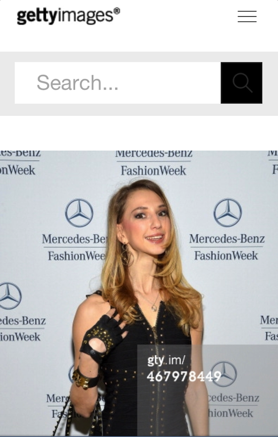 fashion blogger and style icon Valentina Nessi attends the Mercedes-Benz Star Lounge during Mercedes-Benz Fashion Week Fall 2014 at Lincoln Center on February 8, 2014 in New York City