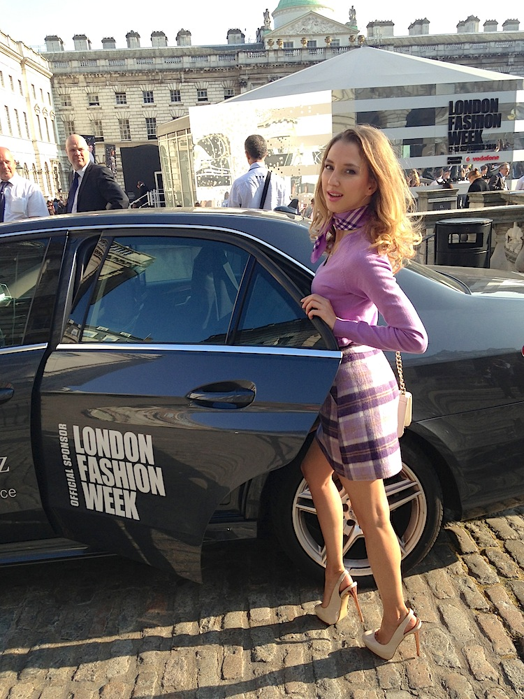 London Fashion Week SS15 29 Mercedes Benz VIP Service