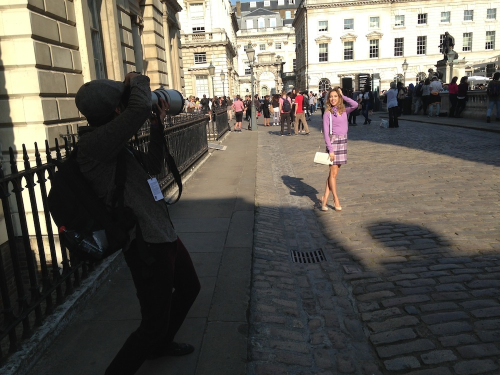London Fashion Week SS15 31 street style photo shooting