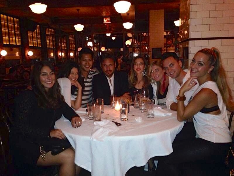 vfashionworld in new york lavo dinner 029