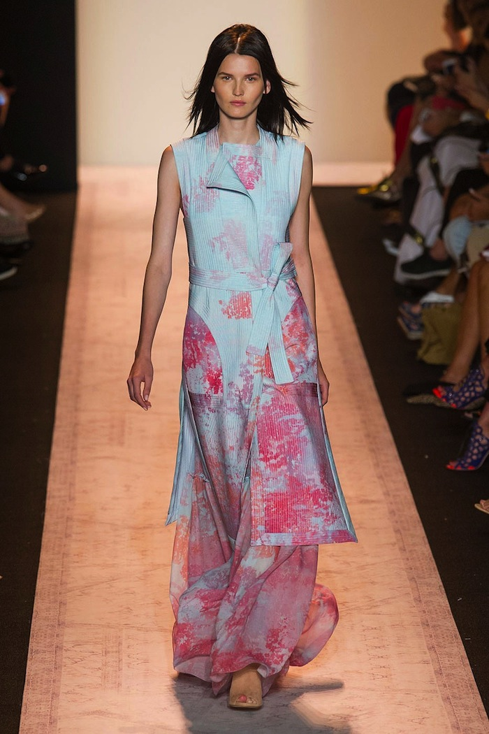 BCBG Spring summer 2015 runway look x blog