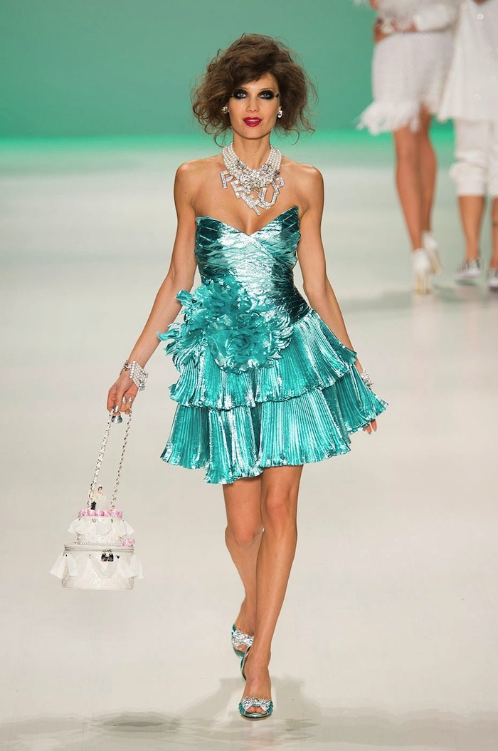 Betsey Johnson Spring Summer 2015 runway look x blog