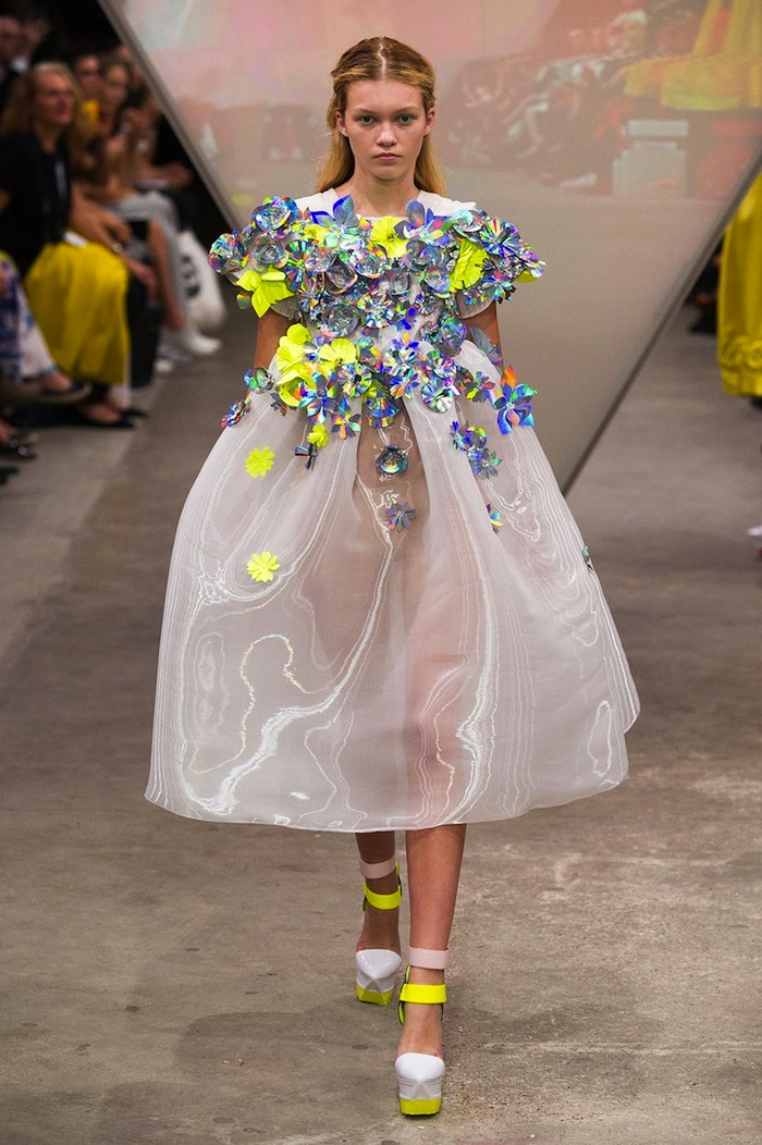 Fyodor Golan Spring Summer 2015 runway look x blog