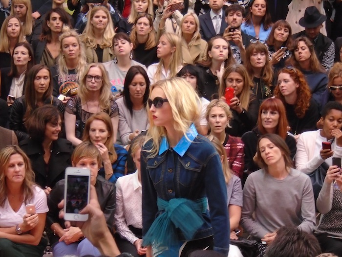 London Fashion Week SS15 21 Burberry fashion show
