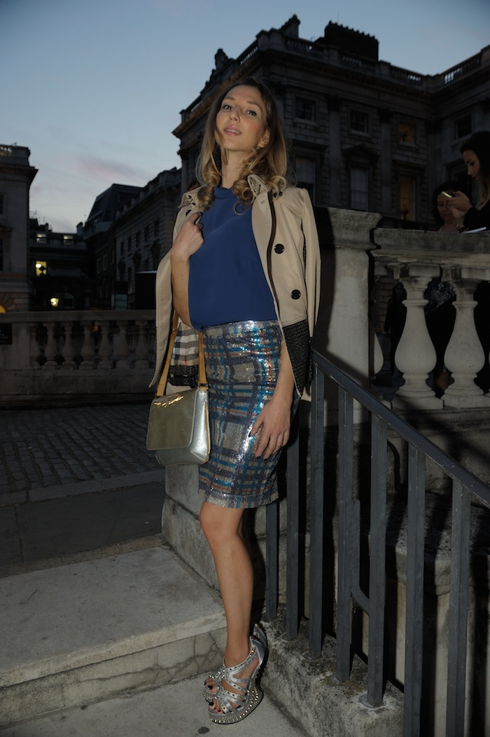 London Fashion Week SS15 LOOK 28 style blogger valentina nessi
