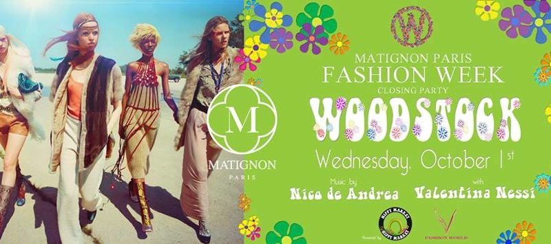 Fashion week Closing Party at Matignon Paris