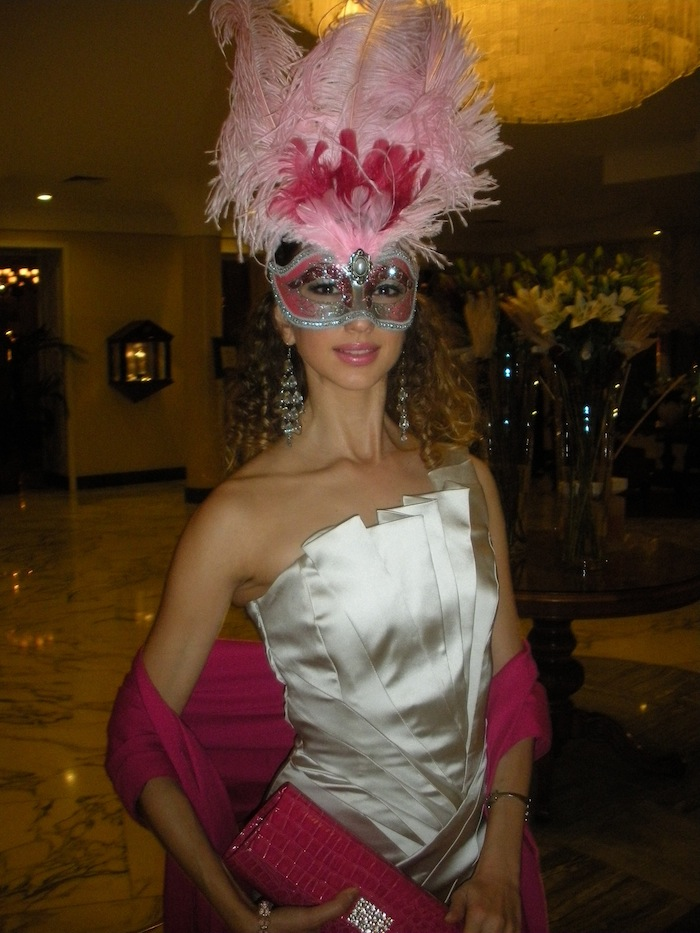 masquerade ball valentina Nessi luxury look splendide royal lugano 01