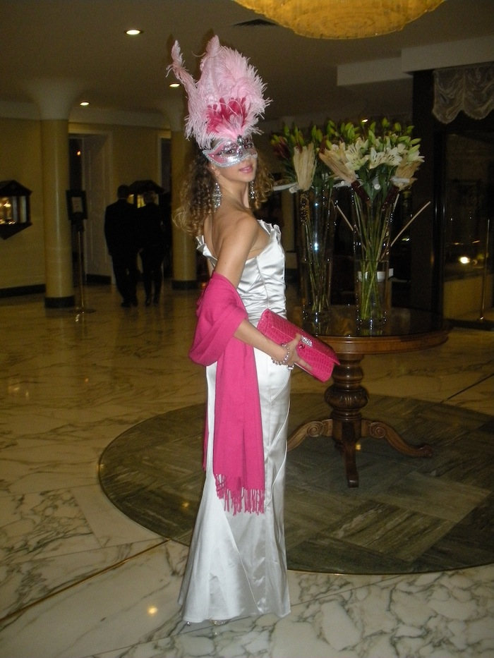 masquerade ball valentina Nessi luxury look splendide royal lugano 02