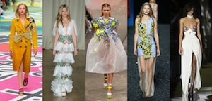 TOP 5 RUNWAY LOOKS DELLA LONDON FASHION WEEK