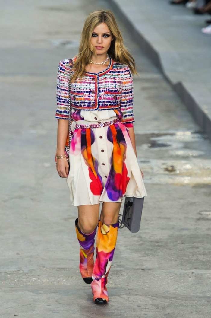 Chanel Spring Summer 2015 runway look copia