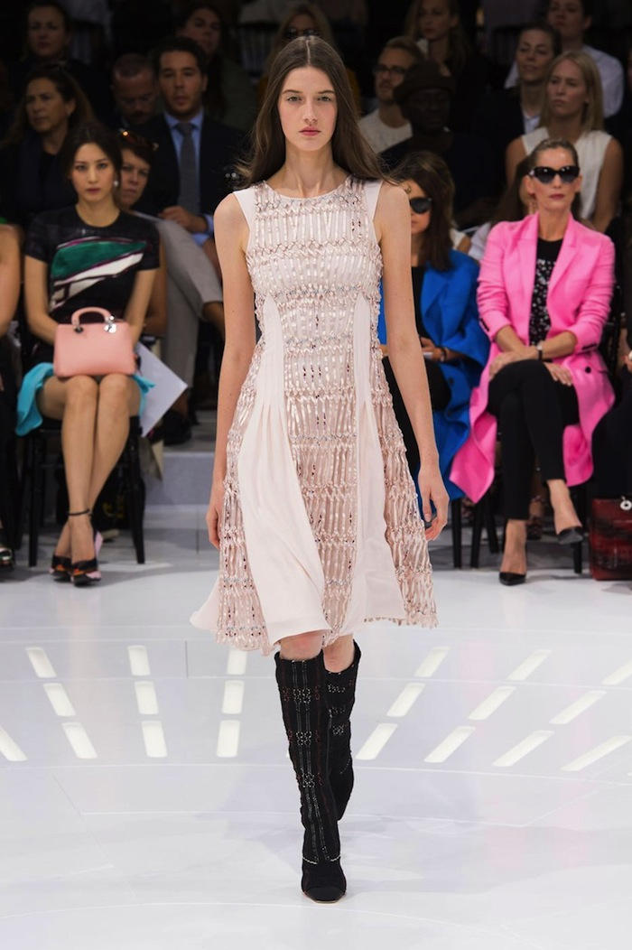 Dior Spring Summer 2015 runway look copia