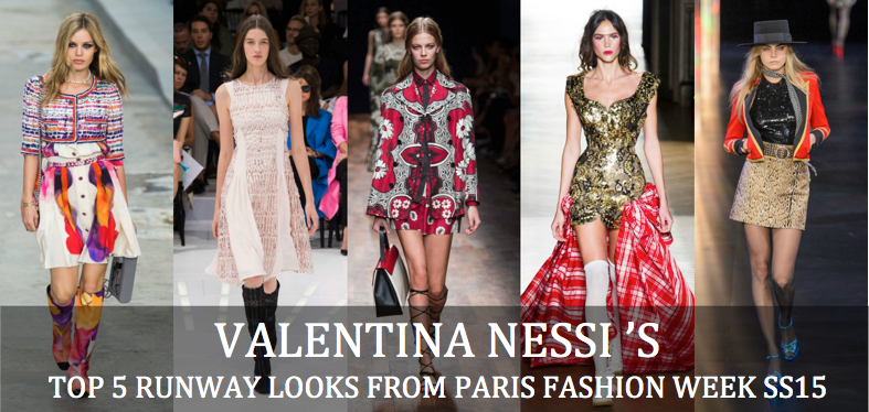 Valentina-Nessi-top-five-runway-looks-from-Paris-fashion-week-spring-summer-2015