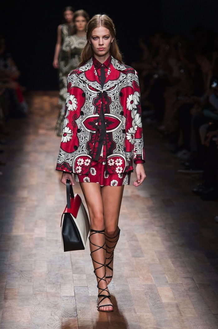 Valentino Spring Summer 2015 runway look copia