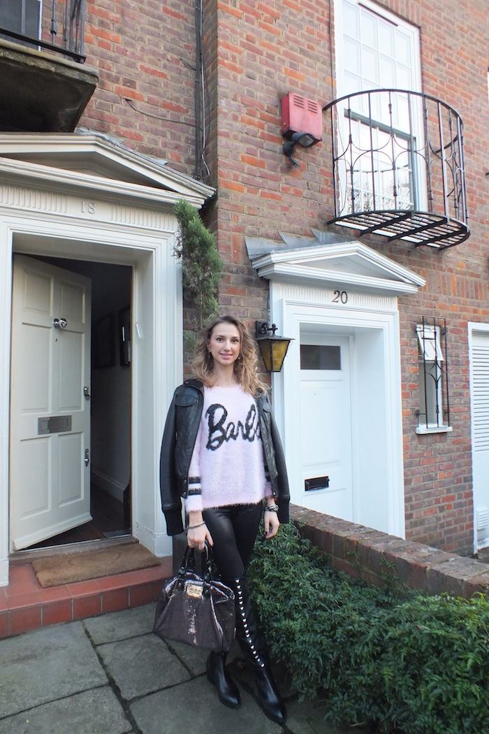 barbie look london street style 01