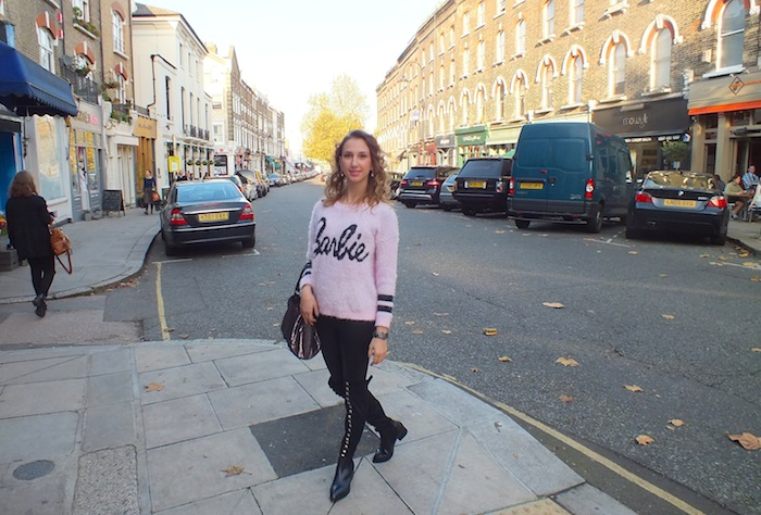 barbie look london street style 02