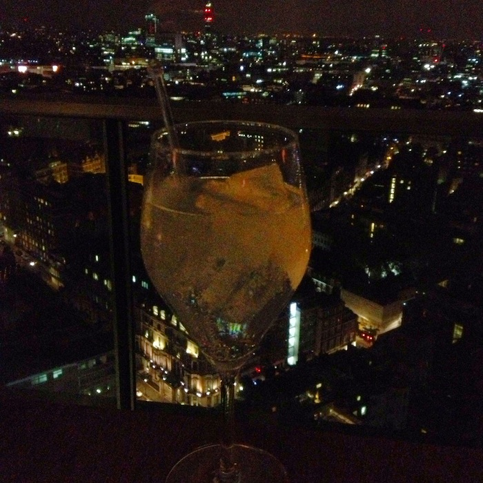 cocktail with a view