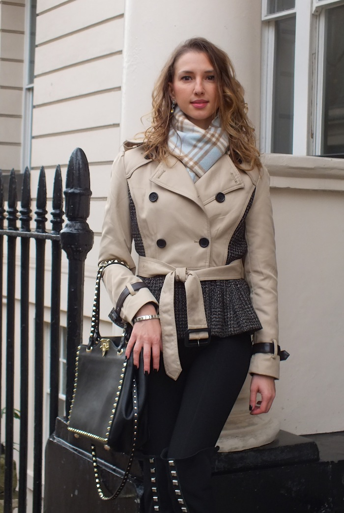london street style burberry trench 01