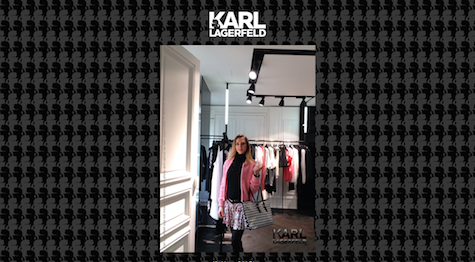 styled by Karl Lagerfeld x blog