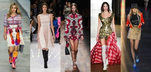TOP 5 RUNWAY LOOKS FROM PARIS FASHION WEEK